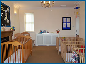 Baby Unit at Little Monsters  Nursery School