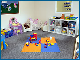 Toddler Room at Little Monsters  Nursery School